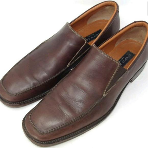 d03fde8a446b3 Gordon Rush Shoes   Elliot Brown Leather 12   Poshmark